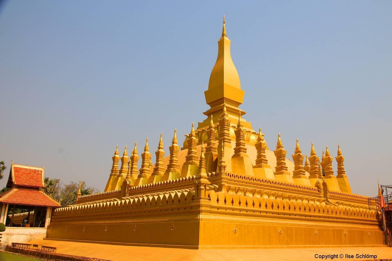Laos, Vientiane, That Luang