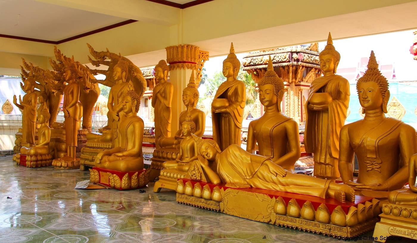 Laos, Vientiane, Wat That Luang