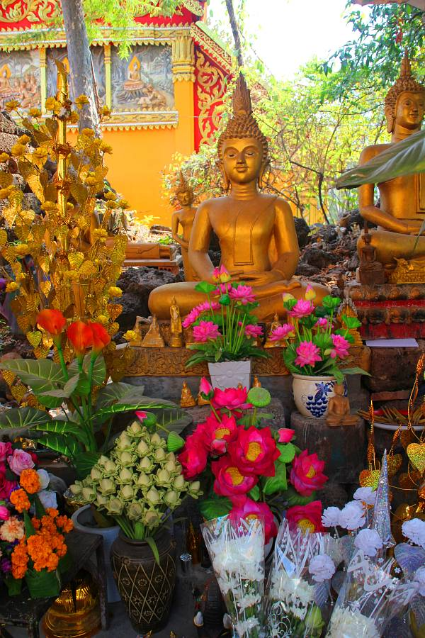 Laos, Vientiane, Wat Si Muang