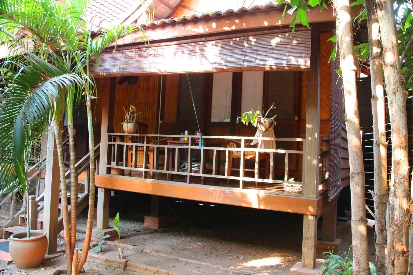 Laos, Vientiane, Hotel Sala Inpeng