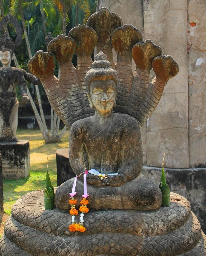 Laos, Vientiane, Buddha Park