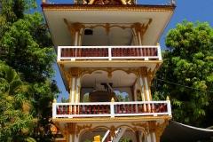 Laos, Vientiane, Wat Inpeng, Trommelturm