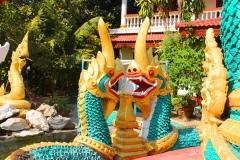 Laos, Vientiane, Wat Chanthaboury