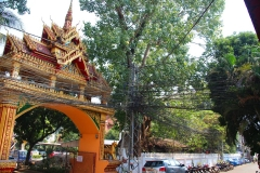 Laos, Vientiane, Kabelsalat