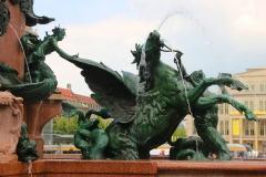 Leipzig, Mendebrunnen, Allegorie auf das Wasser