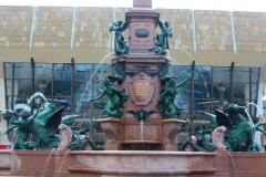Leipzig, Mendebrunnen vor dem Gewandhaus