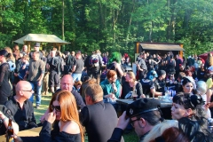 Leipzig, Wave-Gotik-Treffen 2015, Im Heidnischen Dorf