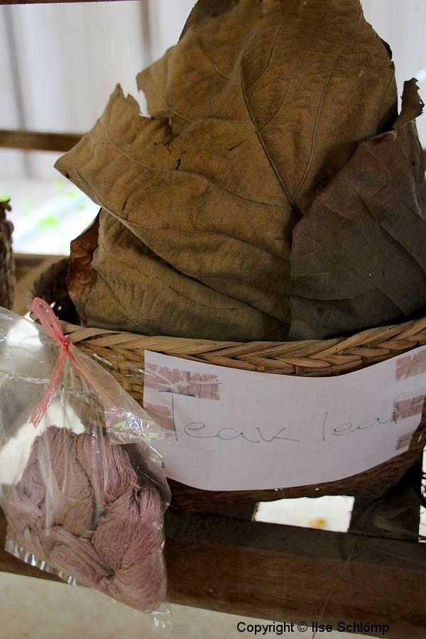 Laos, Xang Khong Posa Village. Teakblatt