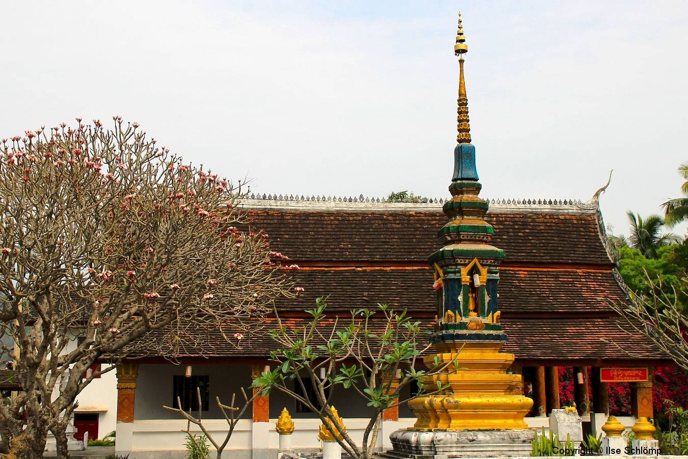 Laos, Luang Prabang, Wat B. Phon Heuang