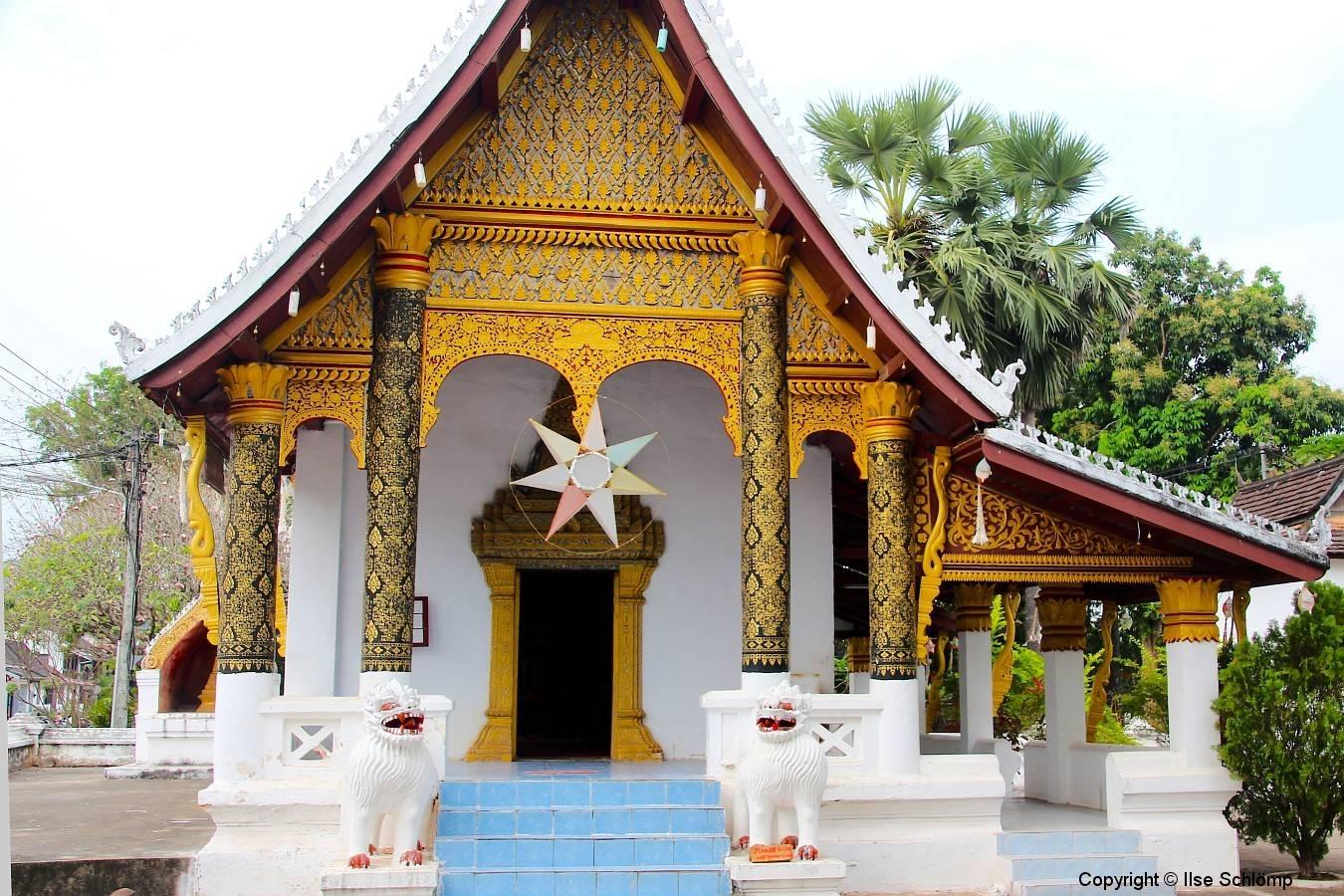 Laos, Luang Prabang, Wat Syrimoungkoun Xaiyaram