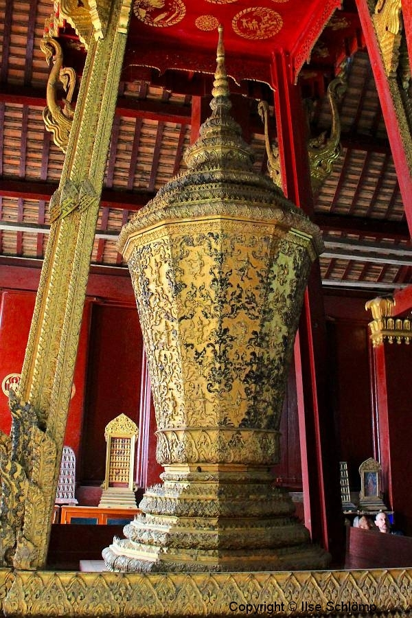 Laos, Luang Prabang, Wat Xieng Thong