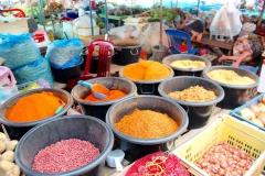 Laos, Luang Prabang, Phosy Markt, Gewürze
