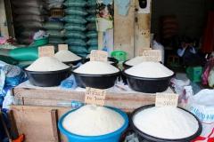 Laos, Luang Prabang, Phosy Markt, Reis