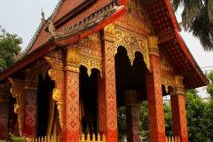 Laos, Luang Prabang, Wat Sensoukharam