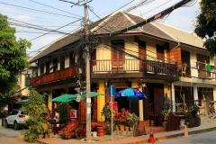 Laos, Luang Prabang Kabelsalat