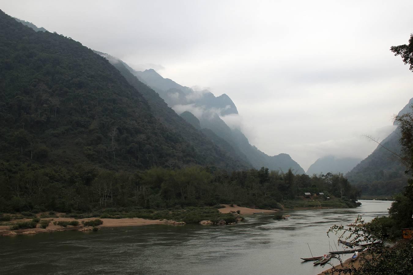 Laos, Muang Ngoi Neua, Nam Ou Fluss