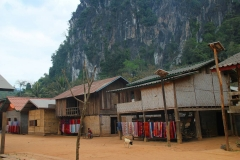 Laos, Am Nam Ou Fluss, Volksgruppe Phou Tai