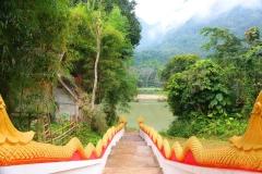 Laos, Muang Ngoi Neua, Wat Okadsaiyaram