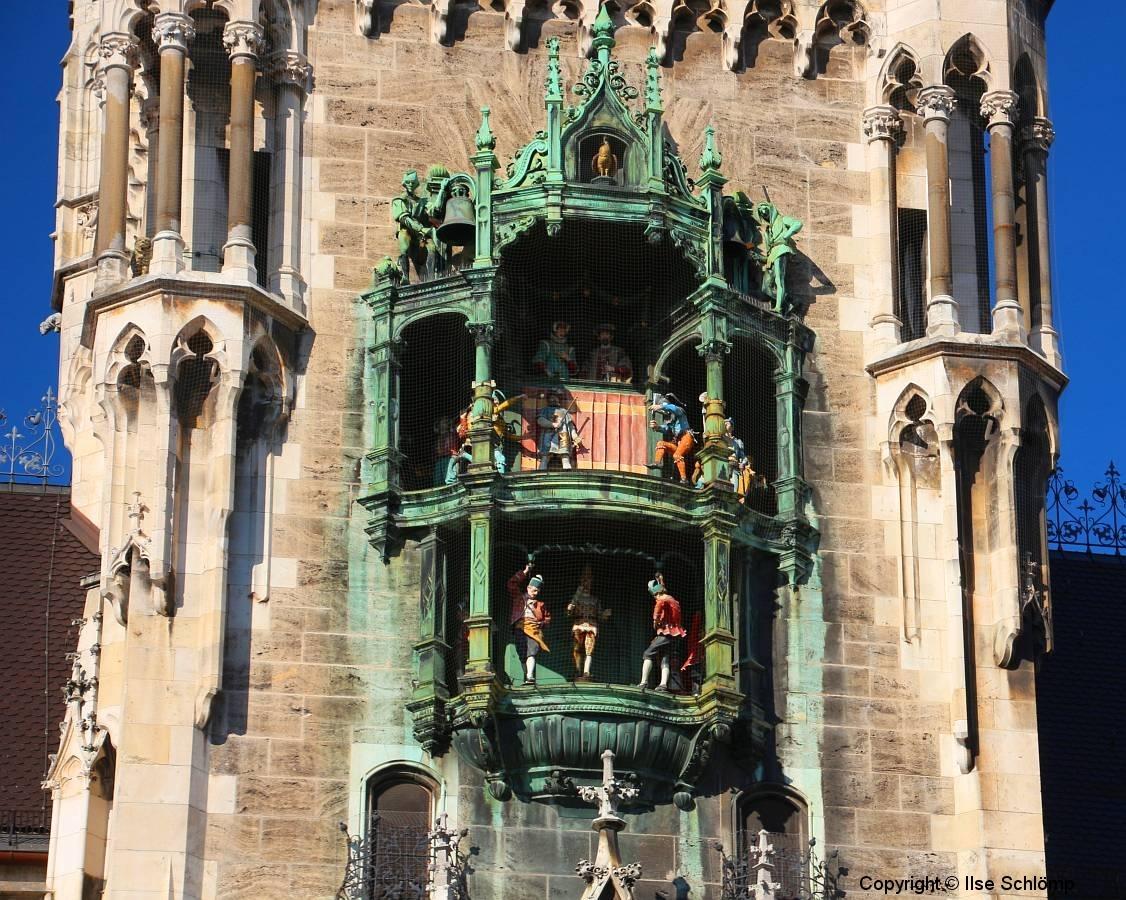 München, Rathaus, Glockenspiel