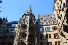 München, Innenhof vom Rathaus