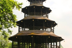 München, Englischer Garten, Chinesischer Turm