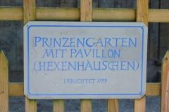 München, Schlosspark Nymphenburg, Prinzengarten