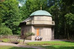 München, Schlosspark Nymphenburg, Hexenhäuschen im Prinzengarten