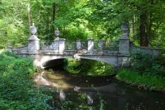 München, Brücke im Schlosspark Nymphenburg