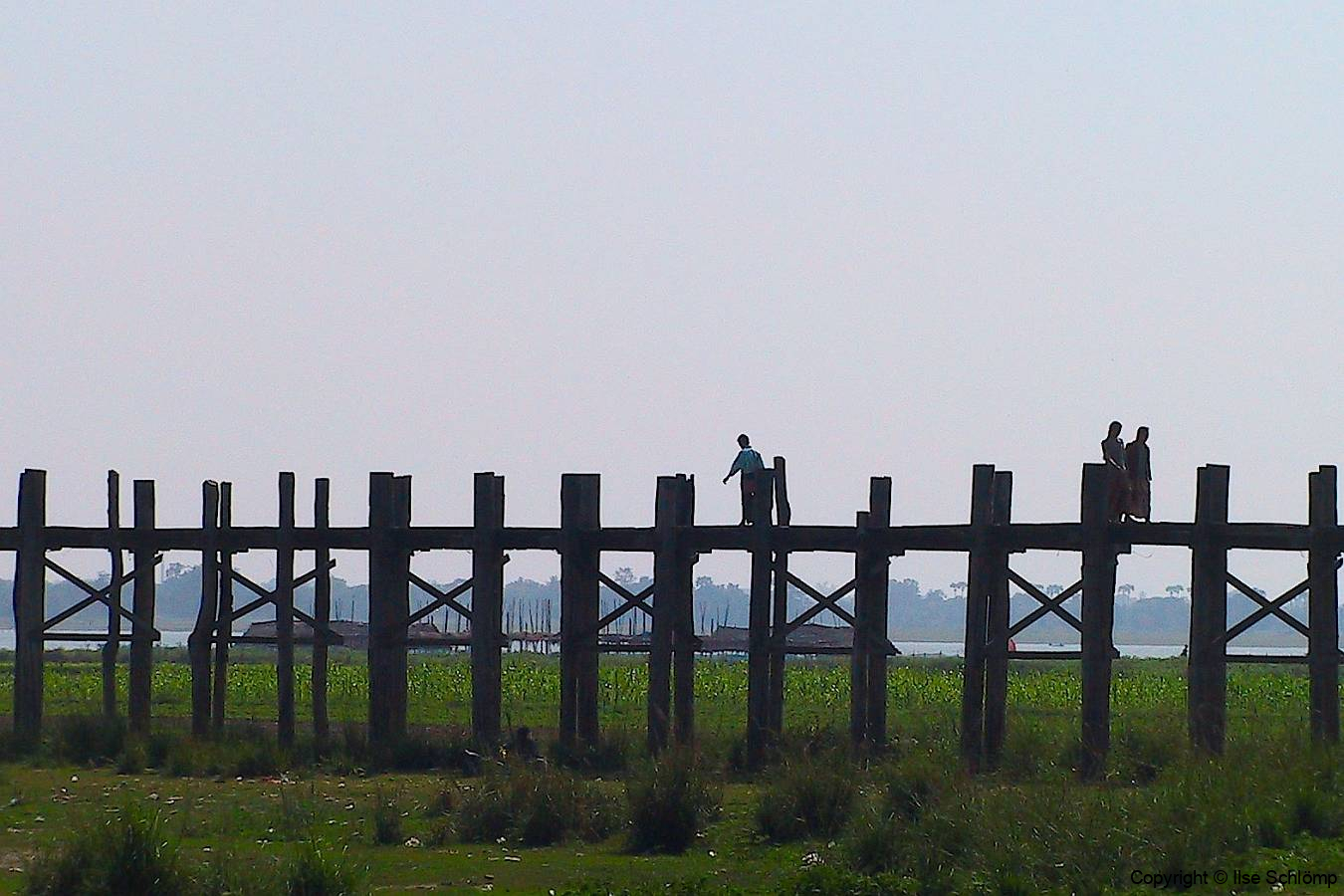 Myanmar, Amarapura, U Bein Brücke