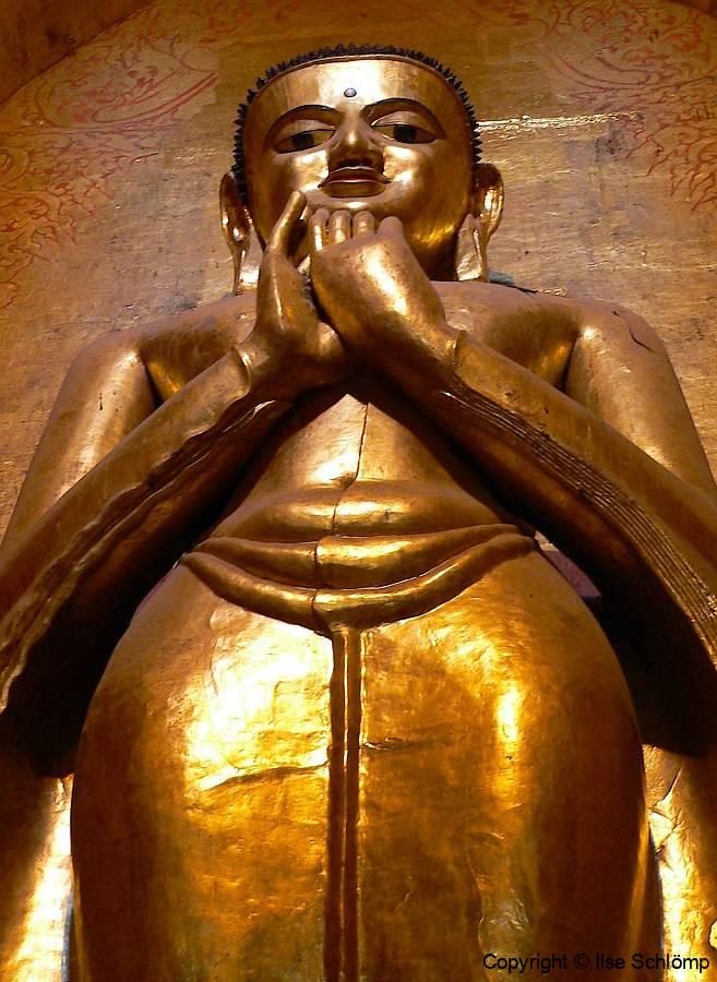 Myanmar, Bagan , Ananda Tempel