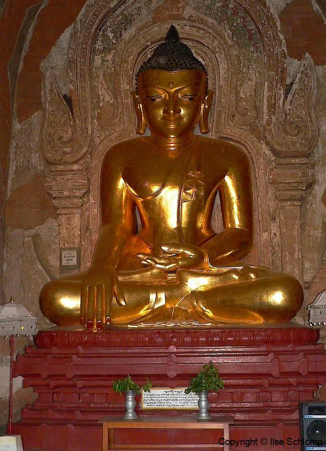 Myanmar, Bagan, Htilominlo Tempel