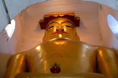 Myanmar, Bagan, Manuha Tempel