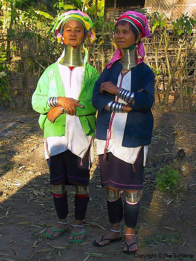 Myanmar, Inle-See, Volksgruppe Padaung
