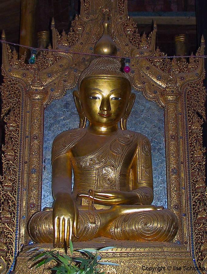 Myanmar, Inle-See, Nga Phe Kyaung Kloster