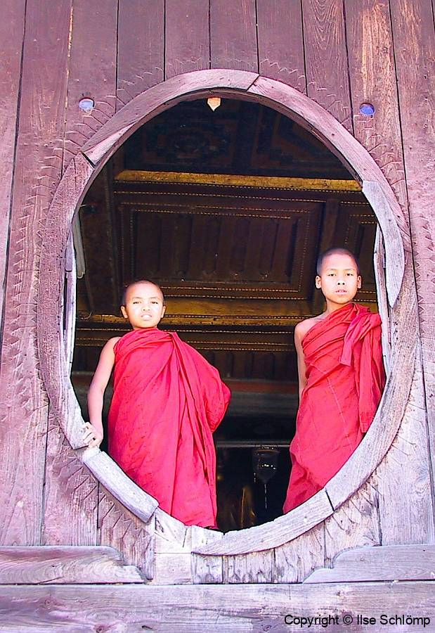 Myanmar, Inle-See, Shwe Yan Pyay Kloster