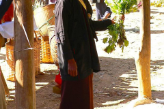 Myanmar, Inle-See, Taung Tho Markt, Volksgruppe Pa-O