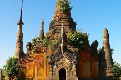 Myanmar, Indein-Dorf, Shwe Indein Pagodenkomplex