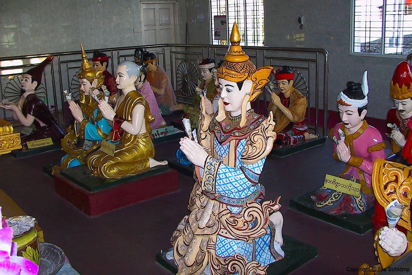 Myanmar, Nats am Golden Rock