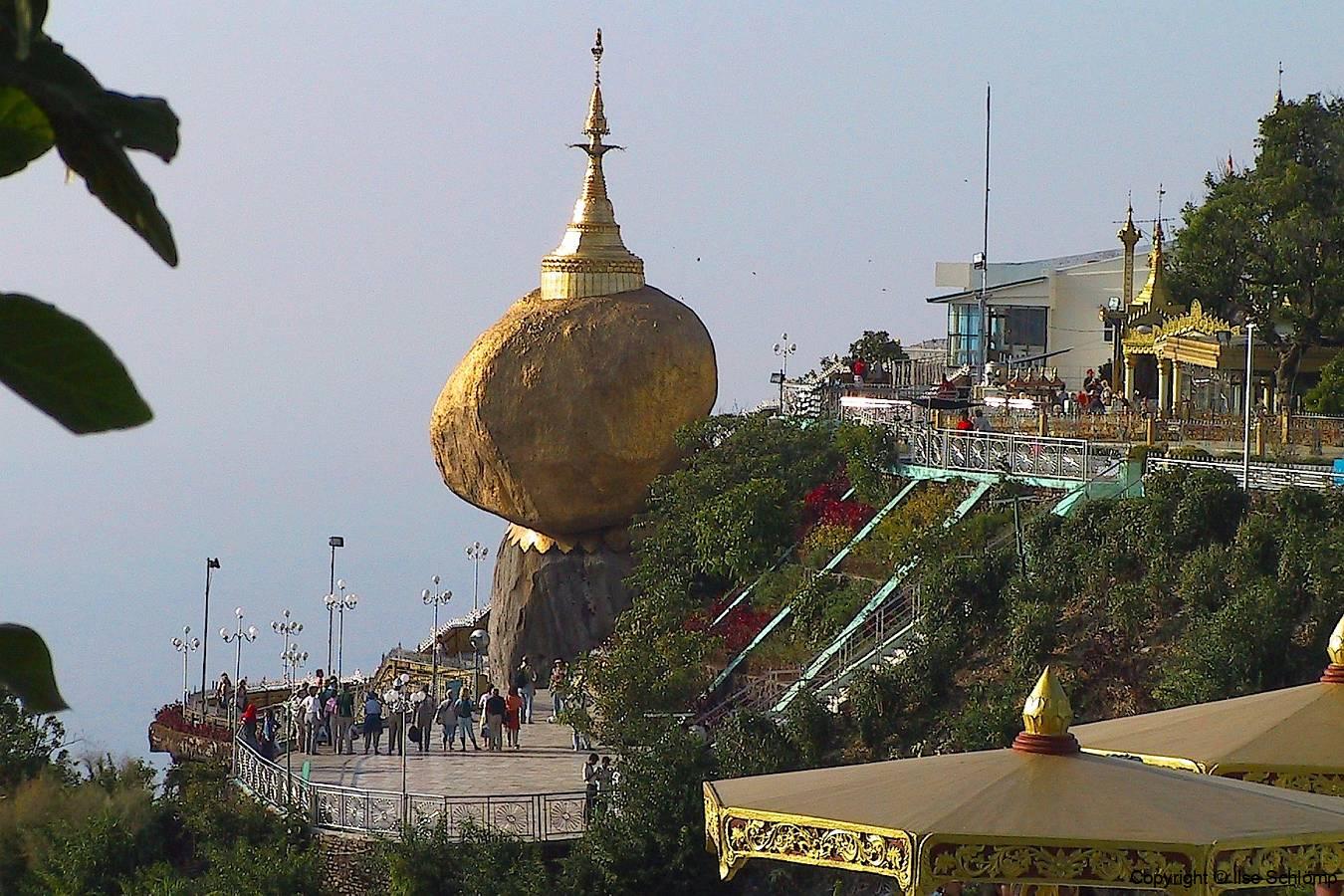 Myanmar, Golden Rock