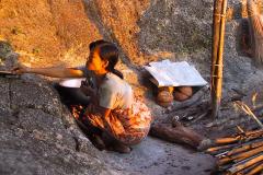 Myanmar, Am Golden Rock