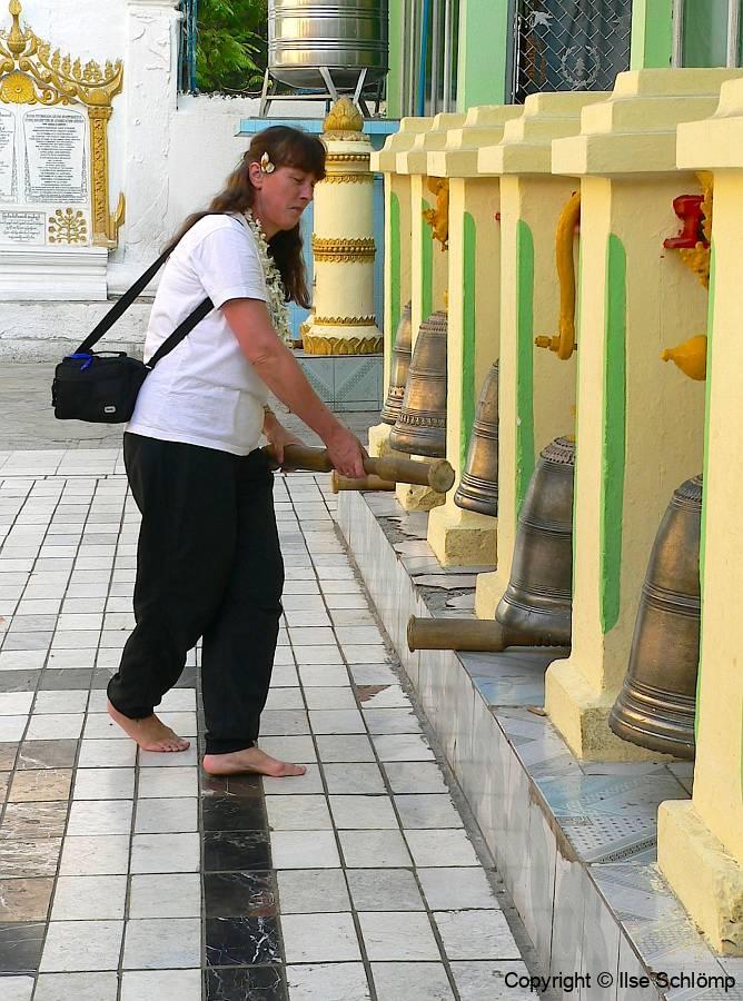 Myanmar, Mandalay, Mahamuni Pagode
