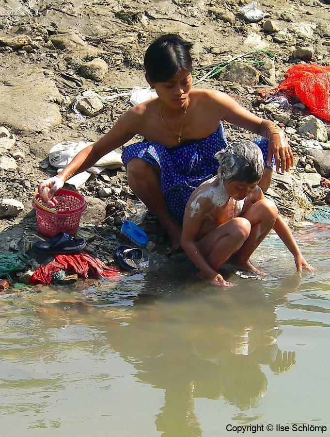 Myanmar, Am Irrawaddy