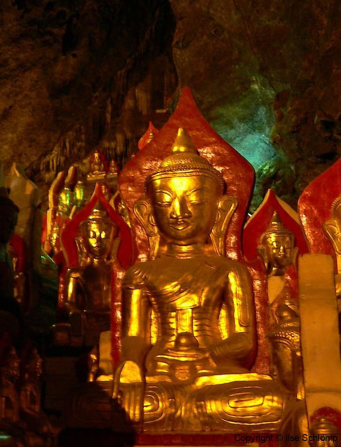 Myanmar, Pindaya, Shwe U Min-Höhle