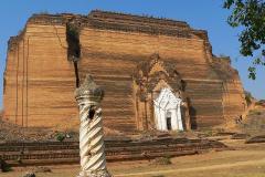 Myanmar, Mingun, Mingun-Pagode