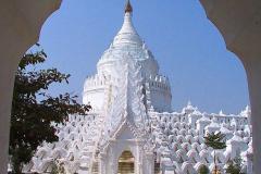 Myanmar, Mingun, Hsinbyume Pagode