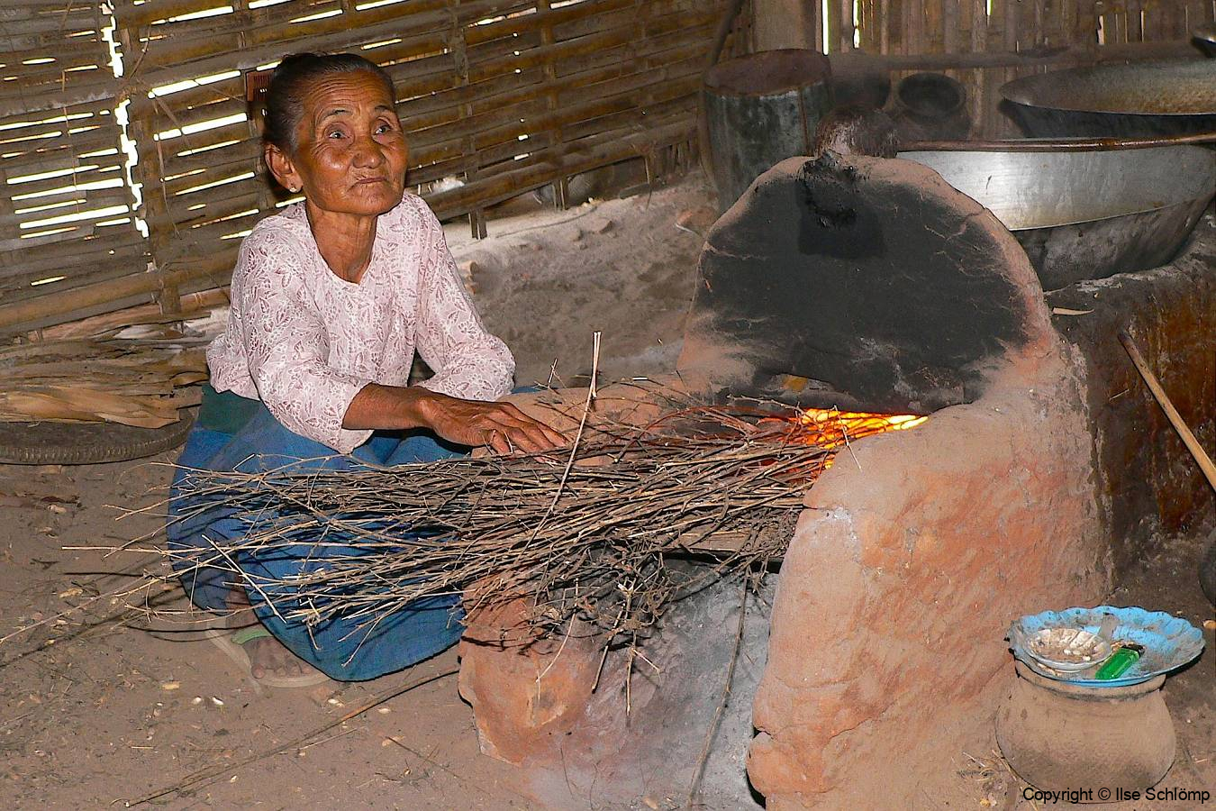 Myanmar, Zubereitung von Palmzucker