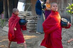Myanmar, Begegnungen unterwegs auf unserer Fahrt zum Mount Popa