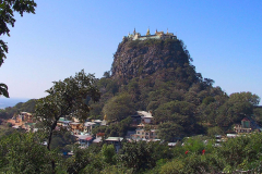 Myanmar, Popa Taung Kalat