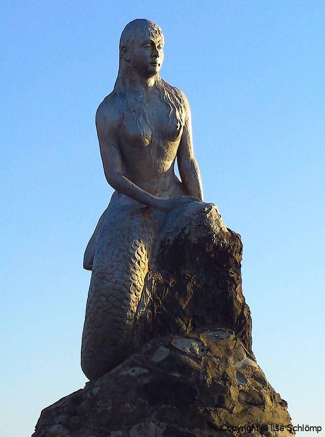 Myanmar, Meerjungfrau am Ngapali Beach