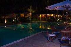 Myanmar, Ngapali Beach, Bayview Beach Resort, Abendstimmung